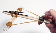 How To Make An Office Supplies Crossbow