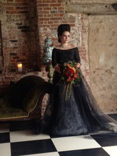 www.sophieandsmith.co.uk www.facebook.com/sophieandsmith #fashion #wedding #dresses #sophieandsmith #gothic #blackweddingdress