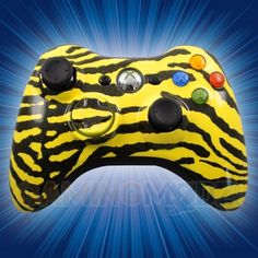 This is our Zebra Yellow Modded Xbox 360 Controller. We have released our hydro dipped series of modded xbox 360 controllers and this model is one of the first in that series. You can purchase this controller and many other custom Xbox 360 controllers exclusively at GamingModz.com! Watch the video now: http://www.youtube.com/watch?v=vi3PSpZh9l0=share