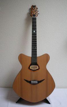 Dorian Django 2014 - this looks a happy guitar