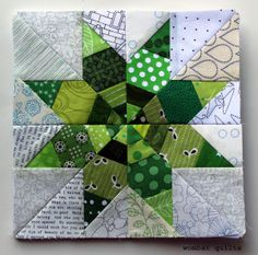 lots of free paper piecing patterns from Wombat Quilts