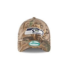 new styles 4ebe6 ee875 Amazon.com   New Era Seattle Seahawks 9FORTY The League Camo Men s  Strapback Hat   Sports   Outdoors