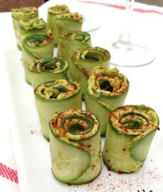 Paleo Cucumber Avocado Rolls #diet #health #nutrition #motivation #weightloss #loseweight #getfit #noexcuses #weightloss #fitspo #commit #healthy #inspiration #fitlife #weightlossjourney #accountability #weightlosssupport #weightlossinspiration #fitness #paleo #primal #glutenfree #grainfree