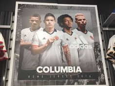 Adidas suffers the wrath of Colombia with 'Columbia' typo #adverts.   #PRfail #Marketing #Grammar #Spelling