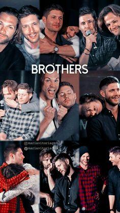 Supernatural Imagines, Supernatural Funny, Jensen Ackles, Supernatural Wallpaper Iphone, Jared Padalecki Brother, Vida Real, Boys Wallpaper, Cockles, Winchester Boys