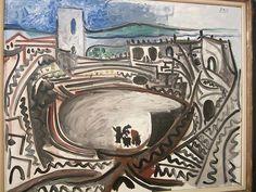 Pablo Picasso 'Arles: el ruedo delante de Ródano', (Arles: the Bull Ring in front of the Rhône)