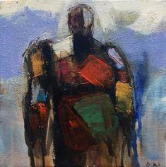 """Saatchi Art Artist Allen Wittert; Painting, """"Warrior"""" #art"""