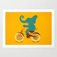"""Eephant on the Bike"" by Tatiana Obukhovich"
