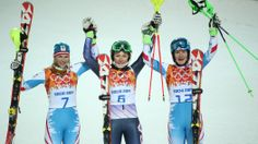 Mikaela Shiffrin of the United States Wins Gold in Women's Slalom