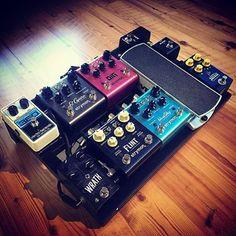 Wow! @aka_tox shares his #pedaltrain #pedalboard  Killer rig! #mypedaltrain