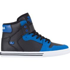 SUPRA Vaider Boys Shoes ($55) ❤ liked on Polyvore