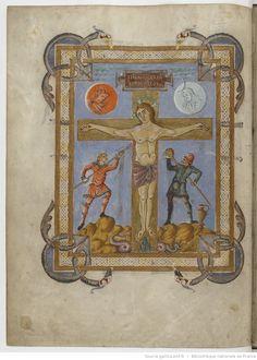 Bnf, Ms Latin 257, Evangelia quattuor, folio 12v