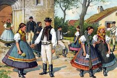 Hungarian Embroidery, Folk Dance, Romania, Budapest, Folk Art, Old Things, Culture, Traditional, Homeland
