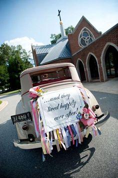 Украшение машин на свадьбу | 819 Фото идеи | Страница 4