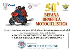 Befana Benefica motociclistica 2017