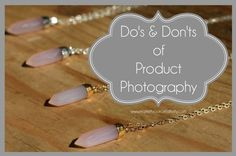 Product Photography Tips for Your #Etsy Business
