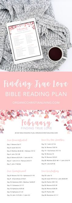 Bible Reading Plan For Women | Topical Bible Study | Bible Study Lessons | Bible Studies for Beginners | Valentine's Day