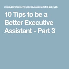 Tips For Becoming An Exceptional Admin  Executive Pas Secretary