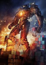 PACIFIC RIM 12x18 TEXTLESS MOVIE POSTER PRINT GYPSY DANGER - USA