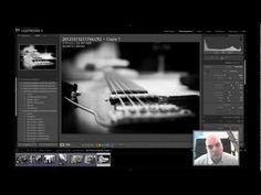 Tuto Lightroom : noir et blanc sélectif - YouTube