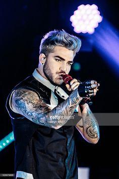Adam Lambert Performs In Milan | Getty Images