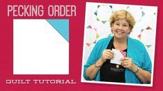 Pecking Order Quilt Pattern by Missouri Star - Missouri Star Quilt Co. - Missouri Star Quilt Co. - Finished size: x 70 for Squares. From Missouri Star Quilt Company Jenny Doan Tutorials, Msqc Tutorials, Quilting Tutorials, Charm Pack Quilts, Charm Quilt, Anni Downs, Charm Square Quilt, Pecking Order, Missouri Star Quilt Tutorials