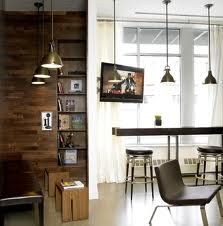 Modern Chic Library Hospitality Interior Design NU Hotel Rooms Brooklyn NYC  | Design Ideas And Inspirations On Furniture, Interior, Kitchen, Bedroom,  ...
