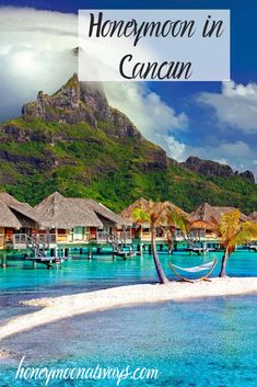 How To Plan A Perfect Honeymoon in Cancun Imagine white sandy beaches, and a fresh, salty breeze. Just some of the many reasons to honeymoon in Cancun! Honeymoon Vacations, Honeymoon Packages, Honeymoon Destinations, Vacation Travel, Mexico Honeymoon, Honeymoon Spots, Honeymoon Planning, Caribbean Vacations, Cancun Mexico
