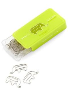 Midori D-Clip Paper Clips - Original Series - Elephant - Box of 30 - basically i need these where can i get them?