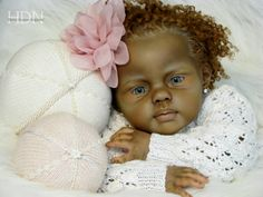 Louisa toddler baby doll sculpt by Jannie de Lange--Now Armani Reborn by Sophia Loerryn http://heavenlydreamsnursery.weebly.com/blog.html