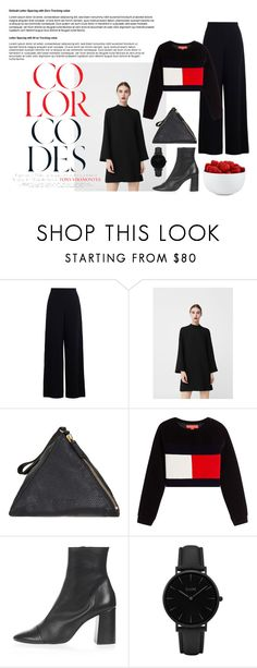 """""""Cold Spring"""" by helena1224 on Polyvore featuring мода, Zimmermann, MANGO, Jil Sander, Topshop, CLUSE и The Cellar"""