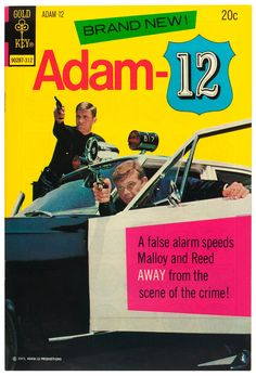 Cover for (Western, 1973 series) Dc Comic Books, Comic Book Covers, Real Movies, Good Movies, Vintage Tv, Vintage Comics, Martin Milner, Adam 12, 70s Tv Shows