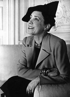 "Elsa Schiaparelli, innovative fashion protagonist during the interwar period, a Surrealist designer that ""invented"" modern fashion shows."