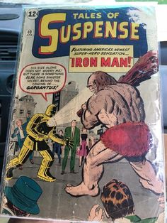 In 1963 Robert Bernstein (as R. Berns) scripted a handful of stories for Marvel over Stan Lee plots. Covers by Kirby. Interiors by Kirby, Heck, Sinnott, and Ayers. Iron Man Avengers, Avengers Comics, Marvel Comic Books, Comic Books Art, Comic Art, Marvel Dc, Vintage Comic Books, Vintage Comics, Tony Stark