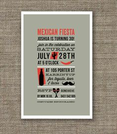 Hey, I found this really awesome Etsy listing at http://www.etsy.com/listing/108076767/mexican-fiesta-theme-birthday-invitation