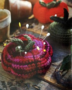 Picture of Home Sweet Crocheted Home. Crochet pin cushion
