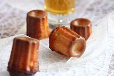Mini Cannelés aus Bordeaux