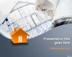 Free Building Design Ppt Template Presentation Backgrounds For Point