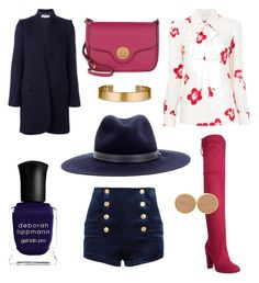 """""""Your shorts are too short"""" by gabrielle-spinelli on Polyvore featuring Pierre Balmain, Charles by Charles David, rag & bone, Yves Saint Laurent, STELLA McCARTNEY, Le Gramme, Chanel, Coccinelle and Deborah Lippmann"""