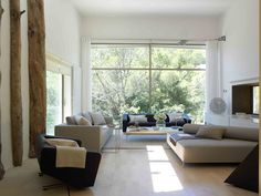 Vivienda Unifamiliar en Tamariu, Girona Dining Bench, Marble, Curtains, Flooring, Romance, Living Room, Interior Design, Architecture, Building