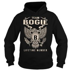 Team BOGIE Lifetime Member - Last Name, Surname T-Shirt