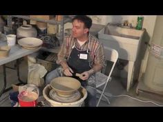 Nested Bowls, Rim Treatments and Perfect Curves with Dan Dermer - YouTube  The very best bowl making, shaping tutorial ever!!!!