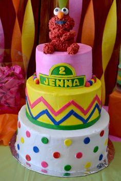 Elmo cake #elmo #cake