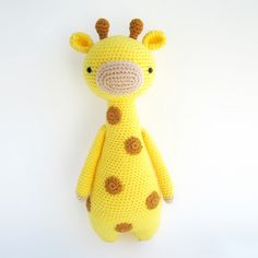 Tall giraffe with spots - Amigurumipatterns.net
