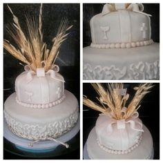 comunión o confirmación cake