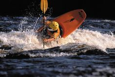 Join kayaking sessions for free.