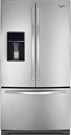 Whirlpool WRF736SDAM Gold 25.5 Cu. Ft. Stainless Steel French Door Refrigerator - Energy Star