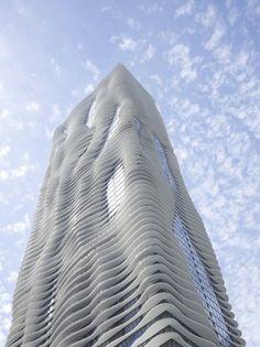 Aqua Tower / Studio Gang Architects, Chicago, IL, USA