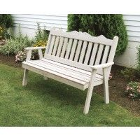 amish cedar wood traditional english garden bench gardens rh pinterest com Johns Garden Outdoor Furniture english gardens patio furniture sale