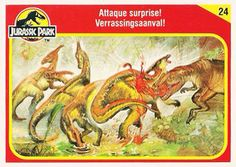 Jurassic World Trading Cards